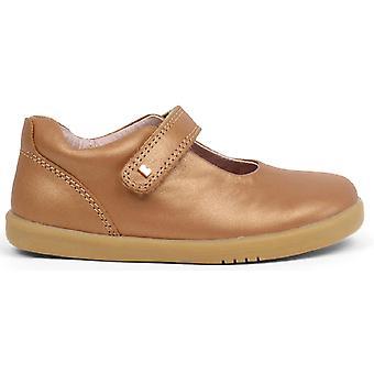 Bobux I-walk Girls Delight Shoes Caramel