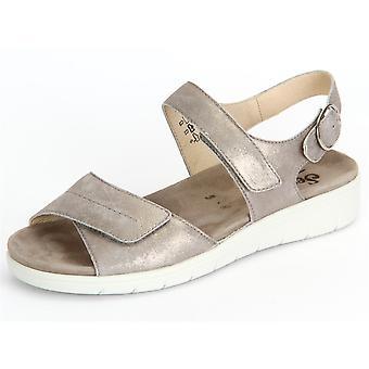 Semler Dunja Panna Metall Velour D4045031028 universal summer women shoes