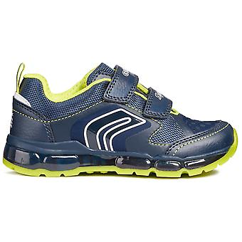 Geox jungen Android J8444A Trainer Navy Lime