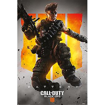 Call of Duty Black Ops 4 Battery  91,5 x 61 cm