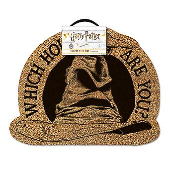 Harry Potter doormat which House are you? Sorting has multicolor, printed, coconut fibre, bottom made of PVC.
