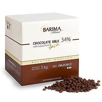 Barima Artisanal 34% Milk Chocolate Callets