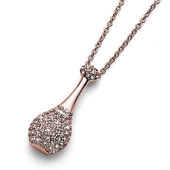Oliver Weber Chain Eau Spring Rosegold Crystal
