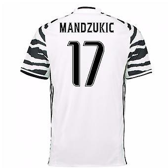 2016-17 Juventus 3rd skjorte (Mandzukic 17)