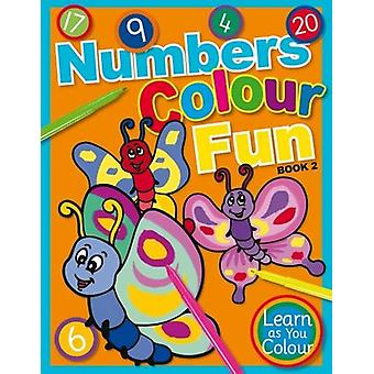 Numbers Colour Fun - Book 2 by Geddes and Grosset - 9781910965429 Book