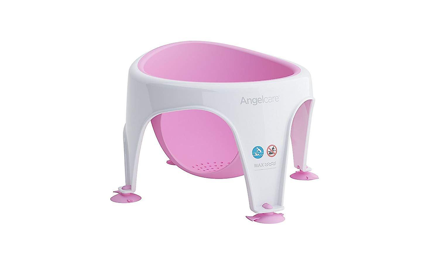 Angelcare Soft Touch Bad kinderstoel - roze