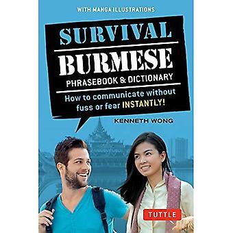 Selviytyminen Burman kielen interjektiot & sanakirja: Miten kommunikoida ilman häly tai pelkoa heti! (Manga-kuvia)