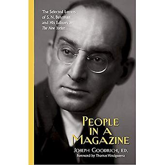 Personer i en tidning: valda bokstäver i S. N. Behrman och hans redaktörer på \