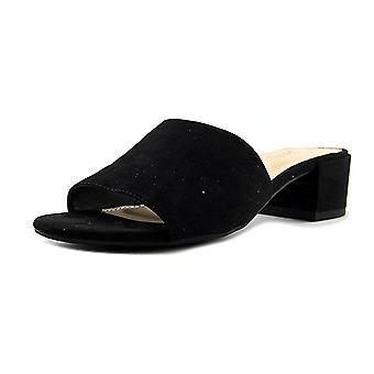 Bar III Womens Jane Fabric Open Toe Casual Mule Sandals