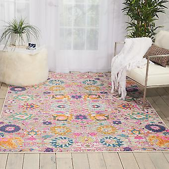 Passion Nourison PSN01 argent Rectangle tapis tapis Funky