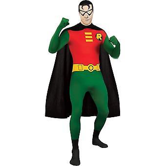 Взрослый костюм Робин кожи