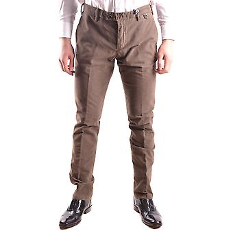 At.p.co Ezbc043051 Men's Brown Cotton Pants