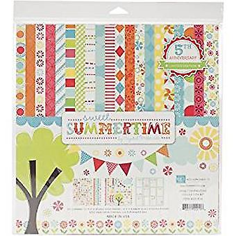 Echo Park Paper Sweet Summertime 12x12 Inch Collection Kit (SS1016)