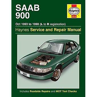 Saab 900 Service and Repair Manual - 9780857336248 Book