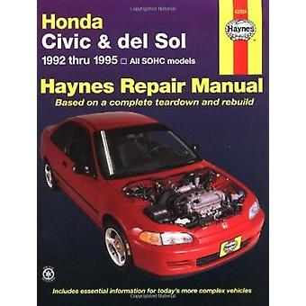 Honda Civic and Del Sol Automotive Repair Manual - 1992 to 1995 by Mik