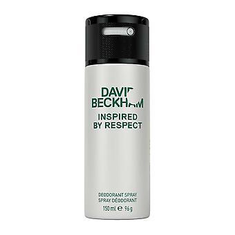 David Beckham inspirado pelo desodorante respeito 150ml