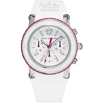 Juicy Couture ZKH White Dragon Fruit chronograaf dames horloge 1900896