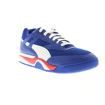 Puma Palace Guard Finals  Mens Blue Casual Low Top Sneakers Shoes
