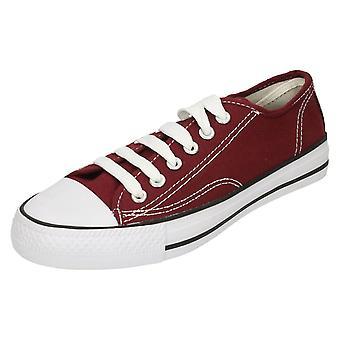 Mens plek op Canvas Lace schoenen