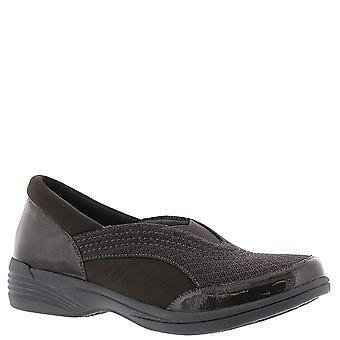 Easy Street Womens Solite Fabric Round Toe Loafers