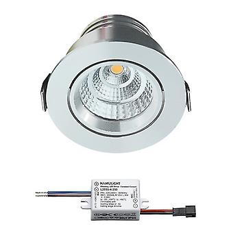 Sharp LED Recessed Spot Grenade (fr) Blanc chaud 4 Watts ( dimmable ( Inclinaison