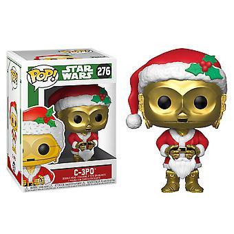 Star Wars C-3PO kuten Santa Pop! Vinyyli