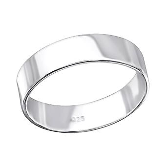 Band - 925 Sterling Silber Plain Ringe - W26715x