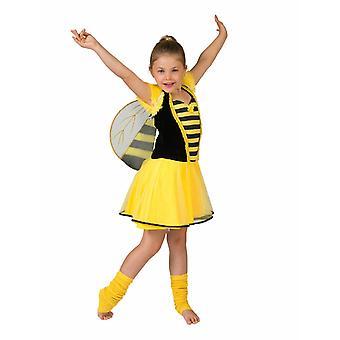 Biene Kinderkostüm Bee Honigbiene Kostüm Kinder Karneval Tierkostüm Mädchen