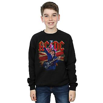 AC/DC jongens Angus Union vlag Lightning Sweatshirt