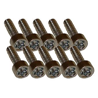 10 x Pan Head Self-Tapping Screws IS-D4x15 for Stihl Machines