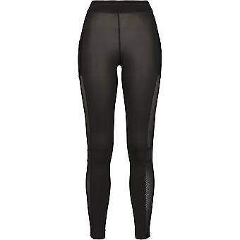 Urban Classics Damen Leggings Mesh Side Stripe