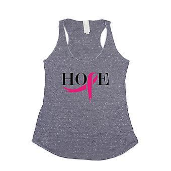 Women's Ribbon of Hope Breast Cancer Awareness Tri Blend Tank