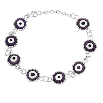 Evil eye - 925 Sterling Silver Chain Bracelets - W16744X