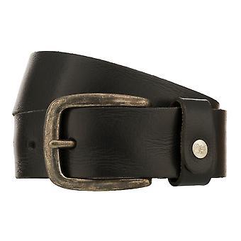Teal Belt Men's Belt Leather Belt Denim Belt Black 8349