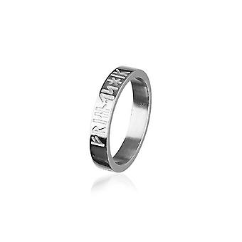 Sterling Argent Traditionnel Scottish Love, Loyality, Friendship Runic Design Ring