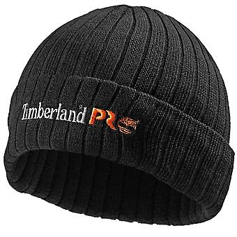 Timberland Pro menns branded polyester Turnup Beanie hat