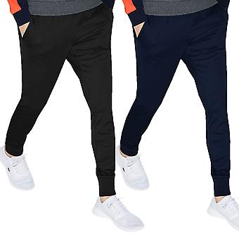 Lacoste Mens 2019 XH0401 Brushed Fleece Joggers