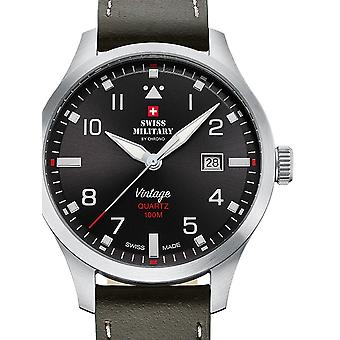 Swiss Military SM34078.04 men´s watch 43mm 10ATM
