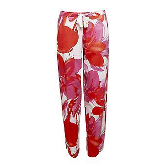 Cyberjammies 4358 kvinder ' s Amber pink blomster print bomuld pyjamas bukser