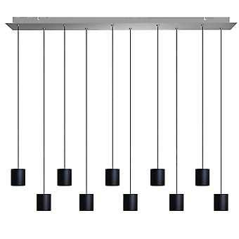 Lyra 10 Mini Pendant Lighting Black