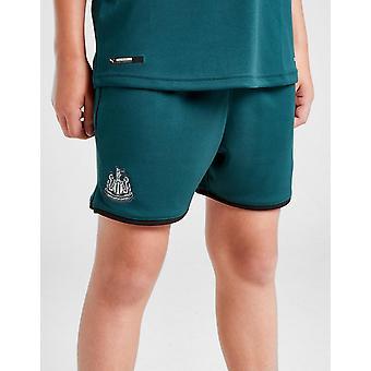 New Puma Boys' Newcastle United FC 2019/20 Away Shorts Green