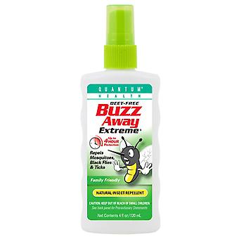 Quantum health buzz away extreme, natural insect repellent, 4 oz