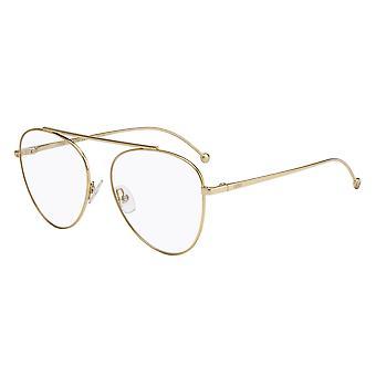 Fendi Fendirama FF0352 J5G Gafas de Oro