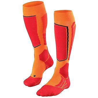 Falke Skiing 2 Knee High Socks - Flash Orange