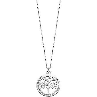 Necklace and pendant Lotus Silver TREE OF LIFE LP1641-1-1 - necklace and pendant TREE OF LIFE money woman