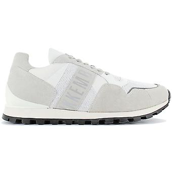 Bikkembergs Fend-er 2376 BKE109294 Men's Shoes White-Grey Sneakers Sports Shoes