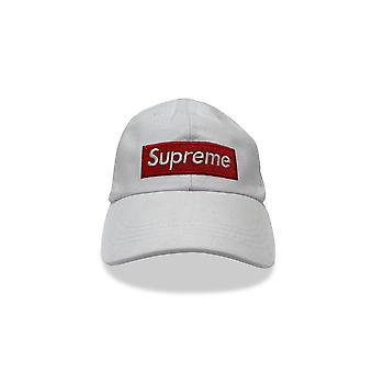 White Supreme Grip Unisexe Cap