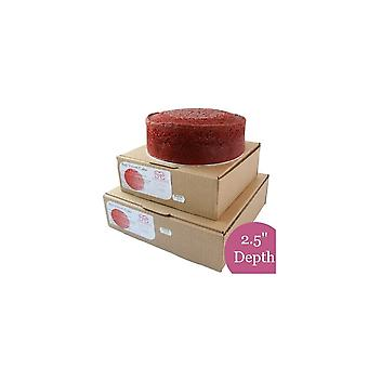 Sweet Success Red Velvet Sponge Cake - Rund - 6