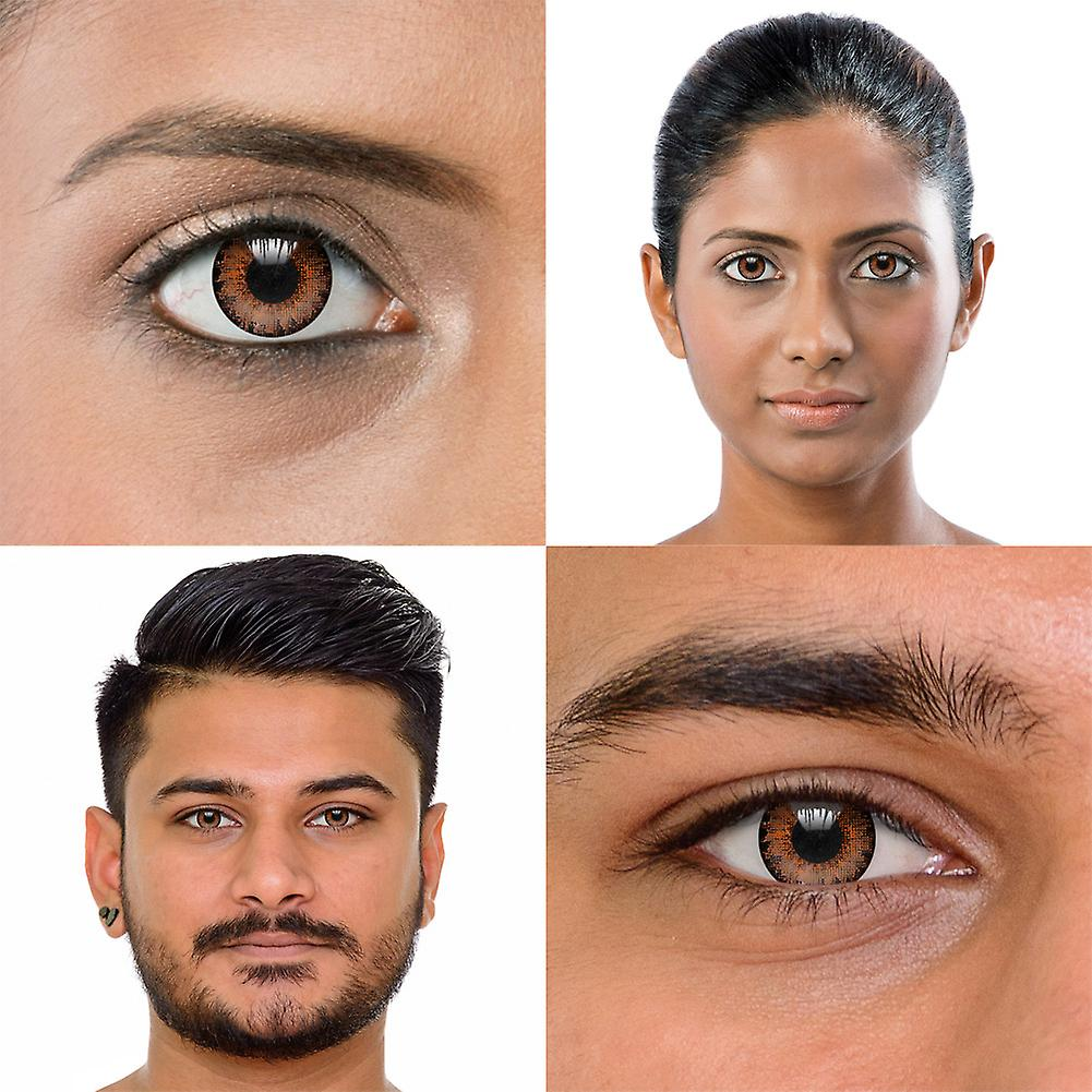 Air Optix Colors Brown Colored Contact Lenses (30 Day)