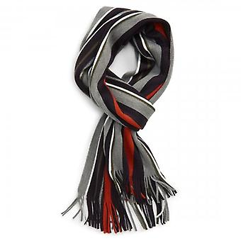 Ted Baker Muster Grey Vertical Stripe Scarf
